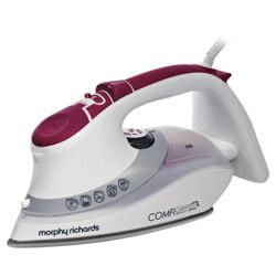 Morphy Richards 40866 Variable Steam Non-stick Iron - White