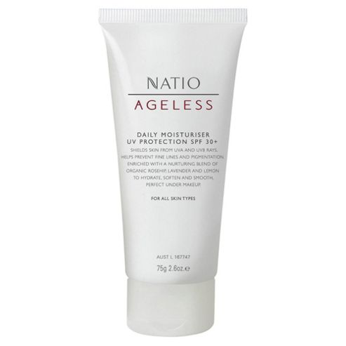 Natio Ageless Daily Moisturiser UV Protection SPF 30+