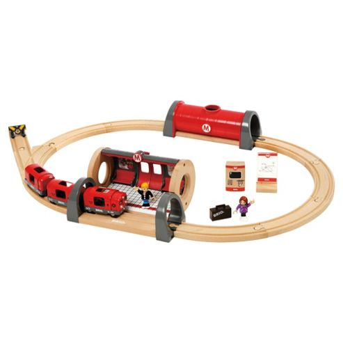 Brio Metro Railway Set Wooden Toy