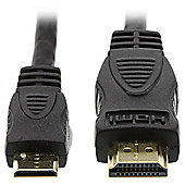 KitVision HDMI to HDMI Mini cable 1.4M supports 1080p for TV/Monitor