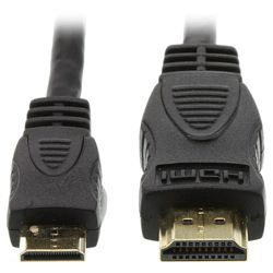 KitVision HDMI to Mini HMDI 1.4m 10.2GBps Cable Black