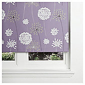 Tesco Meadow Blackout Roller Blind 60cm Mauve