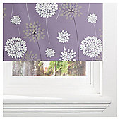 Meadow Blackout Roller Blind 120cm Mauve