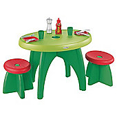Mookie Ecoiffier Picnic Table and Two Stools