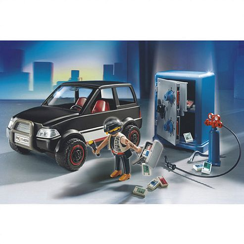 Playmobil 459 Thief with Safe and Getaway Car