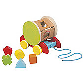 Carousel Pull Along Shape Sorter Car