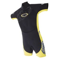 TWF Shortie Kids' 2.5mm Wetsuit age 11/12 Yellow