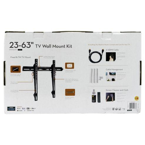 Omnimount 23 to 62 Starter Kit TV Wall-mounting Black