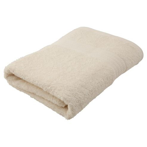 Plain Cream Bath Towel