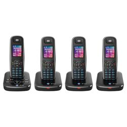 BT Aura 1500 cordless Telephone - Set of 4
