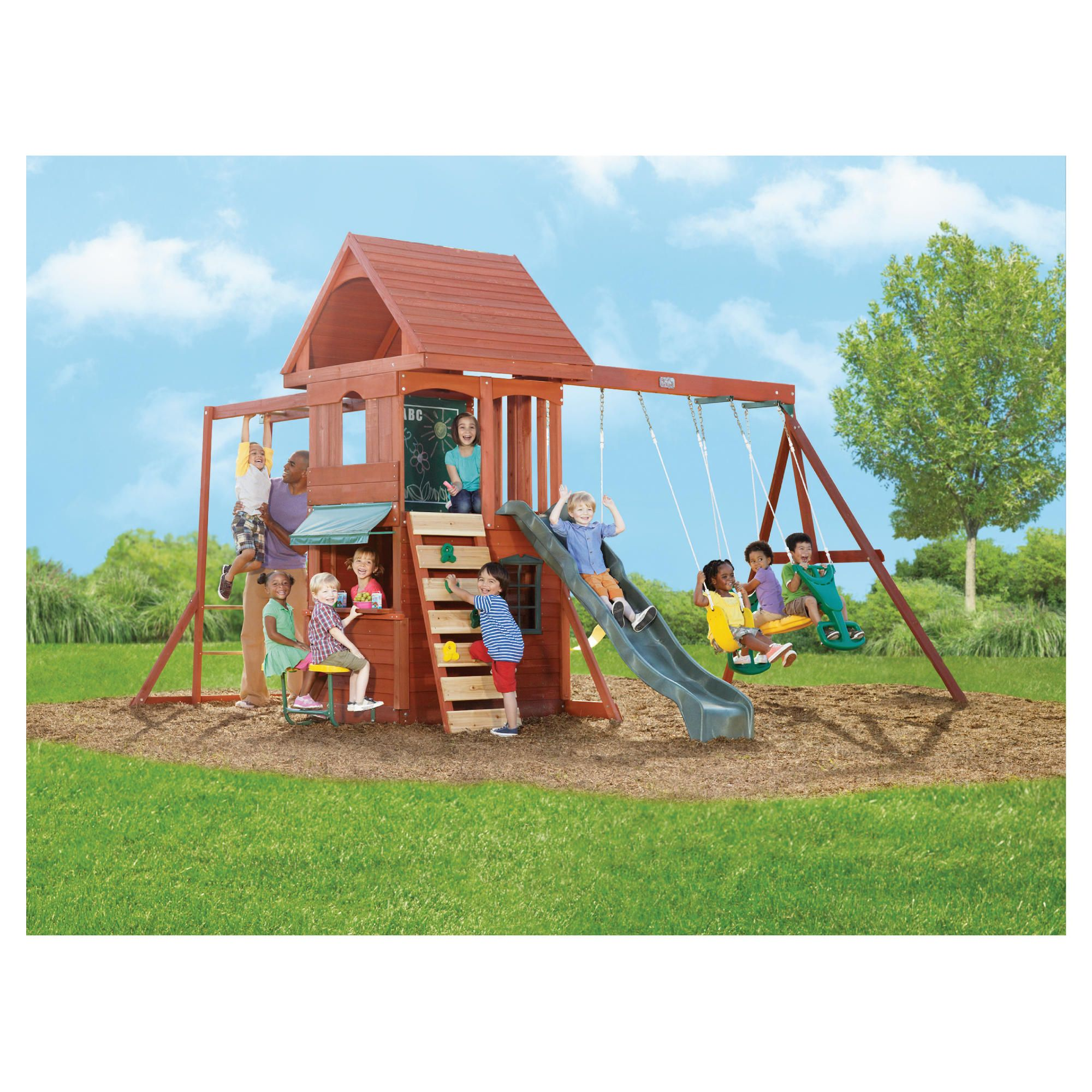 Selwood Texas Playset at Tesco Direct