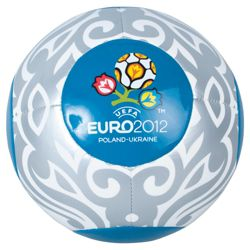 Euro 2012 Official Football-Blue+Silver