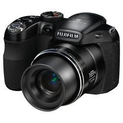 Fujifilm FinePix S2980 Digital Bridge Camera (Black)