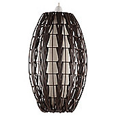Tesco Lighting Hanoi Woven Pendant