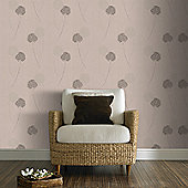 Graham & Brown Alium Wallpaper - Taupe
