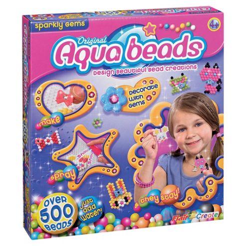 Aqua Beads Sparkly Gems