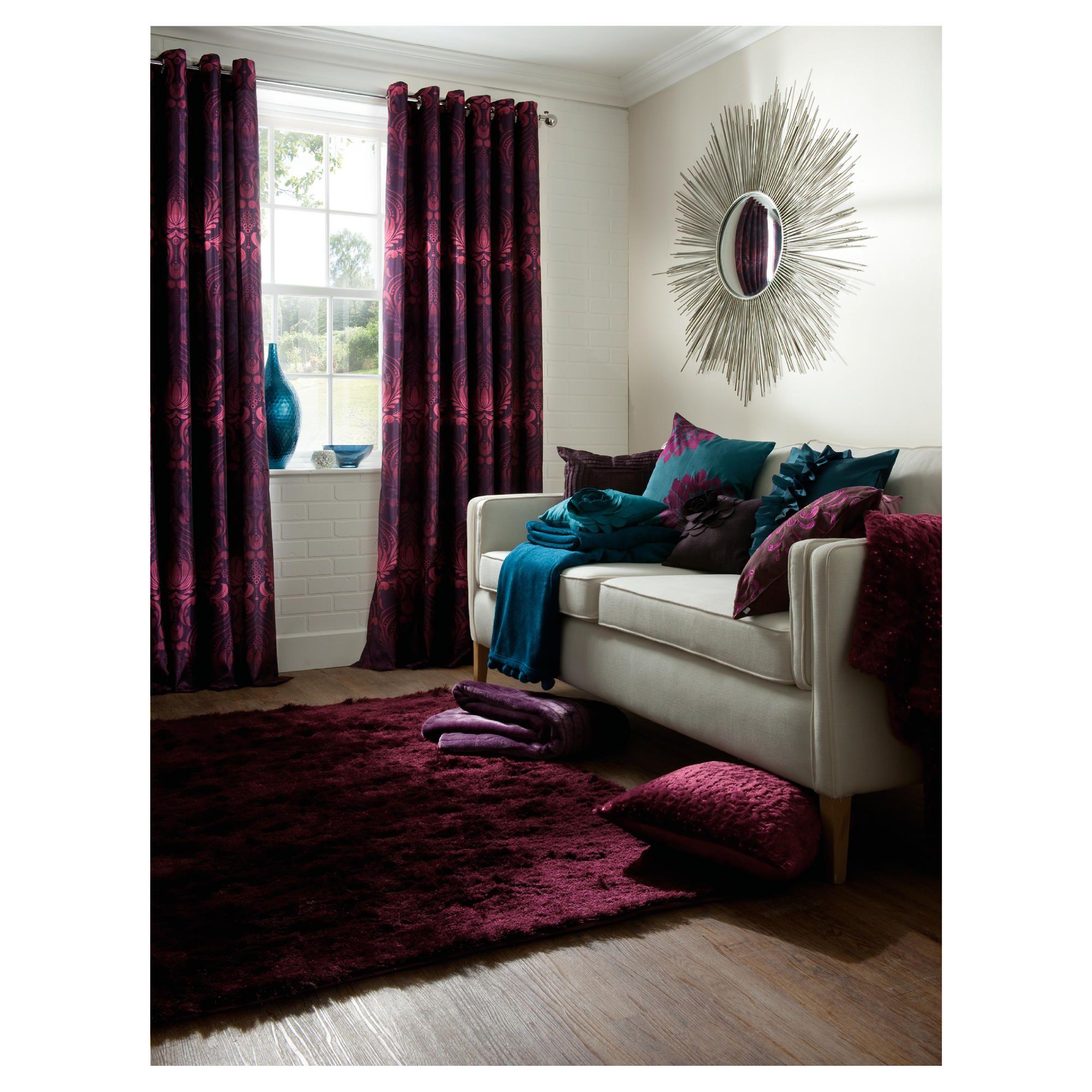 Plum curtains - Plum Curtains Image