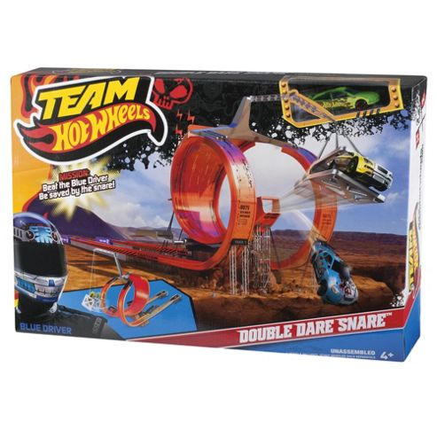 Hot Wheels Team Hot Wheels Double Dare Snare Playset