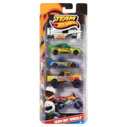 Hot Wheels Team Hot Wheels 5 Pack