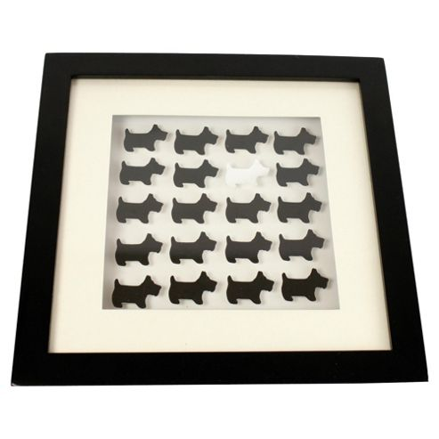 25X25 Scottie Dog Box Frame