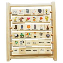 Carousel  Learning Frame Wooden Toy