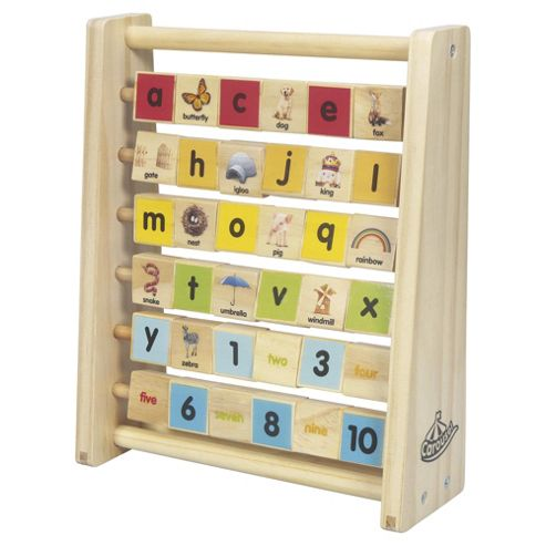 Carousel wooden learning frame