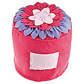 Crafty Cases Petal Pouffe