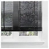 Sunflex Wood Venetian Blind Black 150cm 50mm 160cm Drop