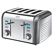 Breville VTT413 Opula Collection Moonstone 4 Slice Toaster