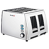 Breville VTT411 4 Slice Toaster - Polished Stainless Steel