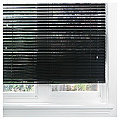 Aluminium Venetian Blind 60cm 35mm Black Gloss