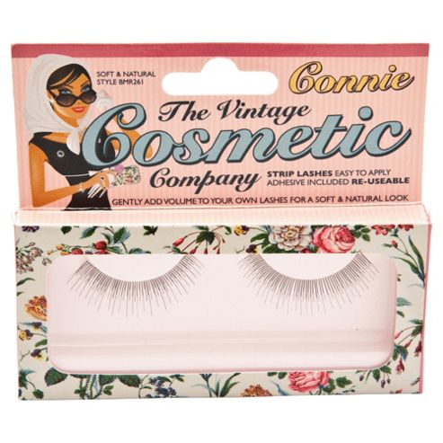 Vintage Cosmetics False Eyelashes Connie