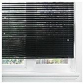 Aluminium Venetian Blind 90cm 35mm Black Gloss