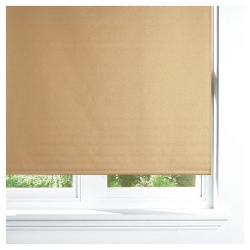 Sparkle Roller Blind 120cm Gold