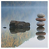 Reflected Rocks Canvas