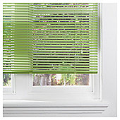 Aluminium Venetian Blind 90cm 25mm Green