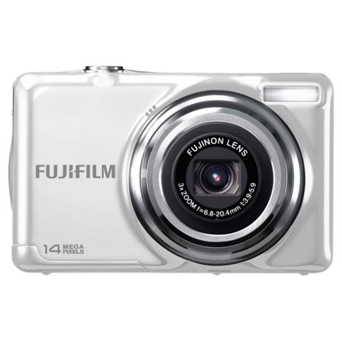 Fuji JV300 White Digital Camera