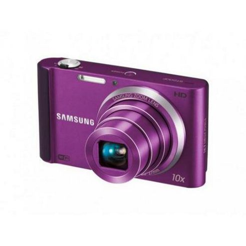 Samsung ST200F Digital Camera, Purple, 16.1MP, 10x Optical Zoom, 3.0 inch LCD Screen