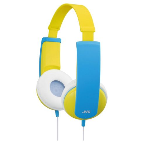JVC Kids Over-Ear Tinyphones Yellow