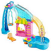 Polly Pocket Pool Party Adventure Playset