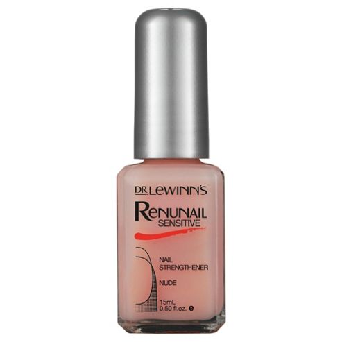 Dr Lewinns Renunail Sensitive Nude Nail Strengther 14ML