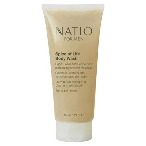 Natio For Men Spice of Life Body Wash
