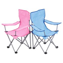Tesco Kids' Folding Camping Chair, Assorted Colour