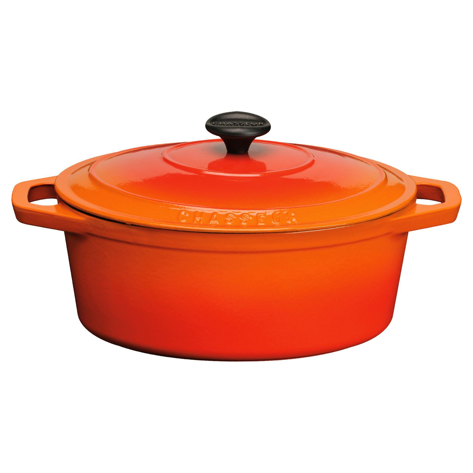 Home and garden la cuisine cookware cast iron 29cm oval for La cuisine 29 x 26cm cast iron grill pan