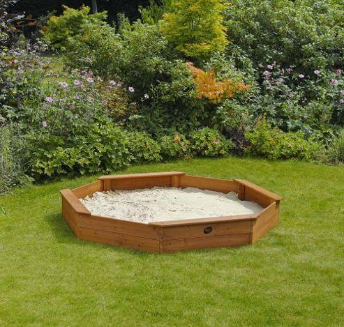 Plum Giant Wooden Sandpit