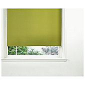 Tesco Thermal Blackout Blind 150cm Olive Green