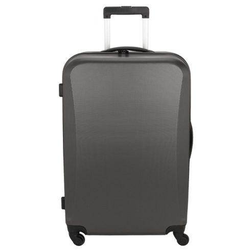 Tesco Hard Shell 4-Wheel Suitcase, Grey Large
