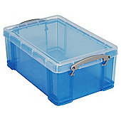 Really useful box 9L, Translucent blue