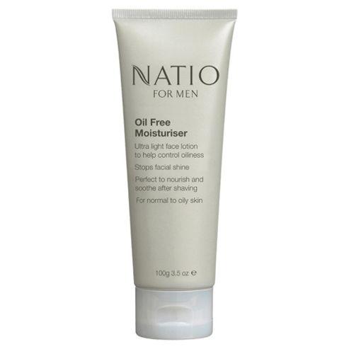 Natio For Men Oil Free Moisturiser