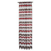 Tesco Single Panel Milan Stripe Voile Channel Top - Red